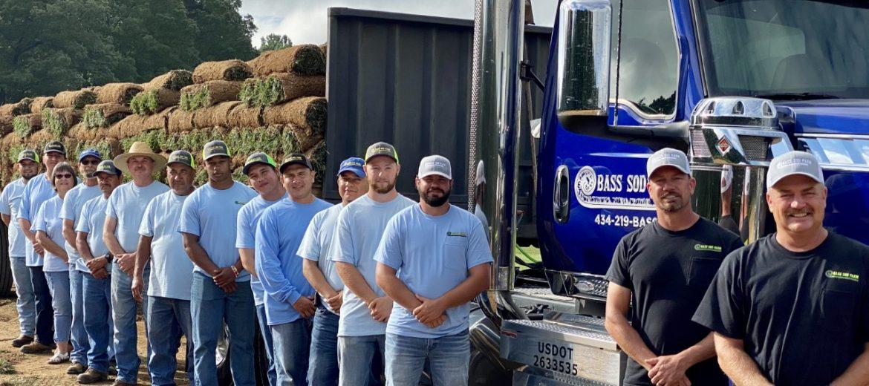 Bass Sod Farm team of professionals